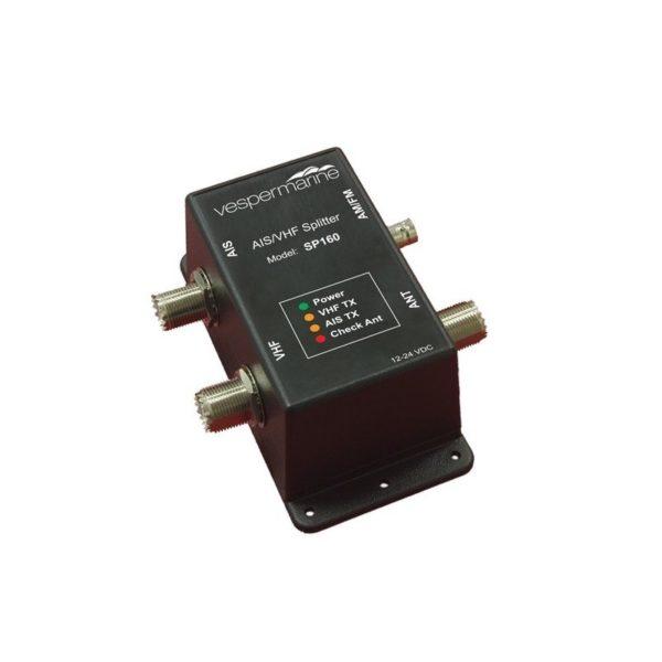 Vesper Marine XB-8000 AIS transponder + antenni jagaja